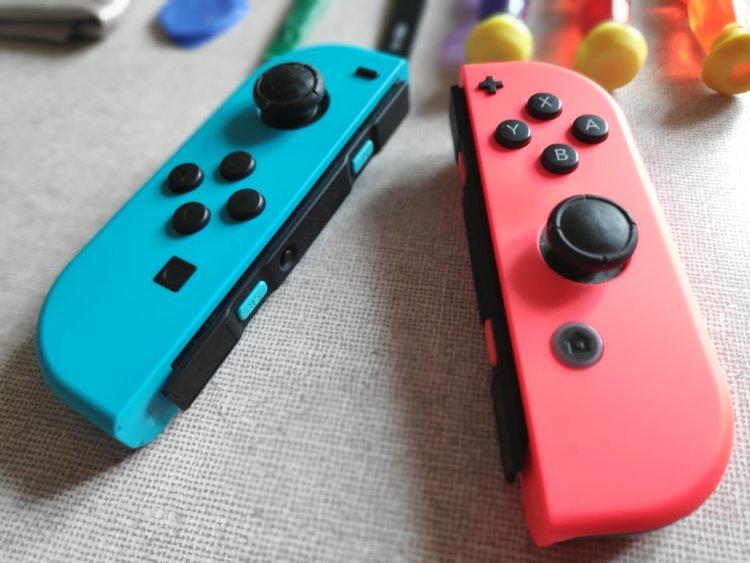 Nintendo Switch Joy-Conアナログスティック修理方法
