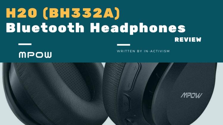 Mpow H20 ワイヤレスヘッドホン BH332A レビュー|aptX-HD1対応音質良し、デザイン良し、価格良しの3拍子揃ったハイコスパモデル