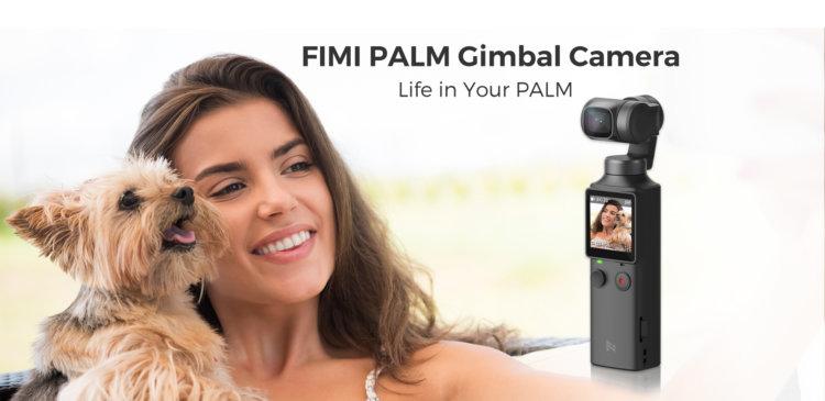 Xiaomi FIMI PALM 3軸ジンバルカメラ インプレッション