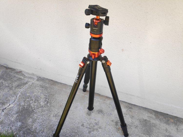 K&F Concept SA254T1 カメラ三脚 使用感レビュー