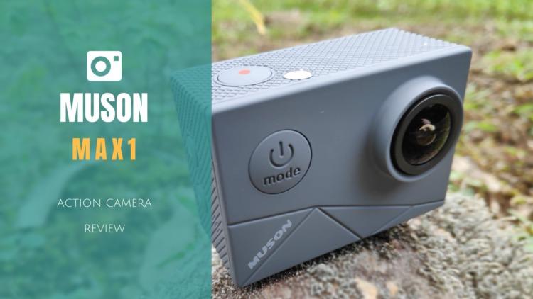 MUSON(ムソン) MAX1 アクションカメラ レビュー サブ機として持っておくと心強い4K対応エントリーアクションカム
