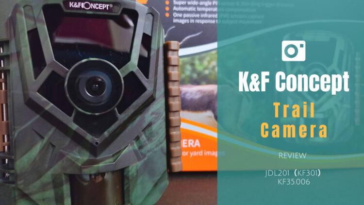 K&F Concept トレイルカメラ KF35.006 レビュー|5千円以下で楽しめるFHD対応入門機