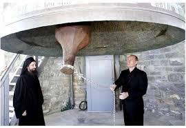 Putin la Athos