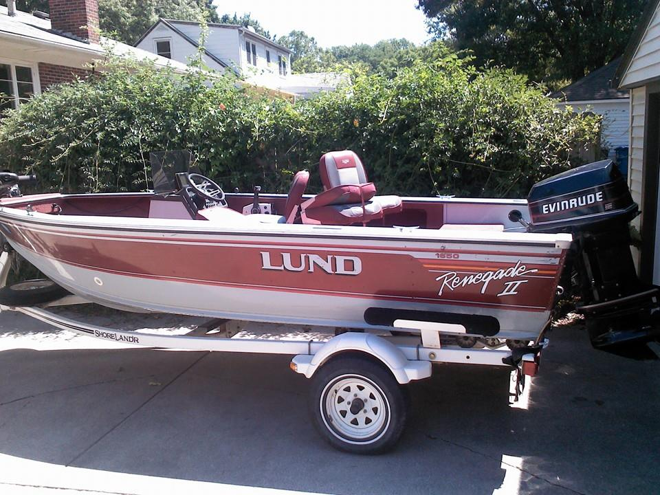 For Sale 1991 Lund Renegade II 1650  Classified Ads  In