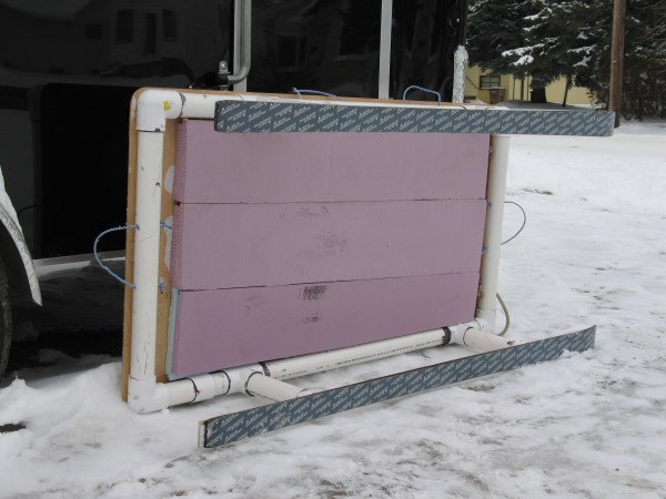 Homemade Ice Fishing Sled Aluminum - Year of Clean Water
