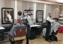Freude bei Kunden und den Friseuren