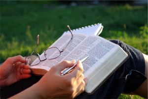 the bible reading 1