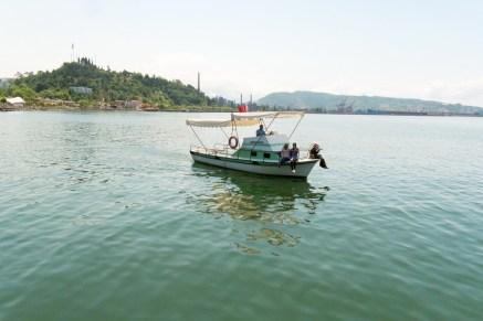 Erigli tourist boat