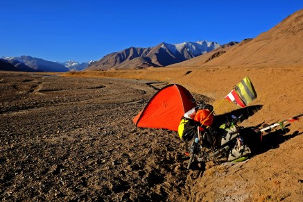 Camping at 4000m - a Challenge