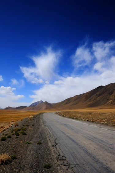 Pamir blue Sky
