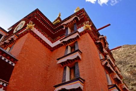 Tibetan style Building