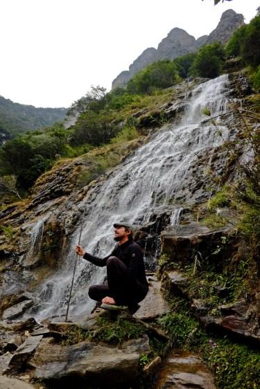 Shepherd & Waterfall