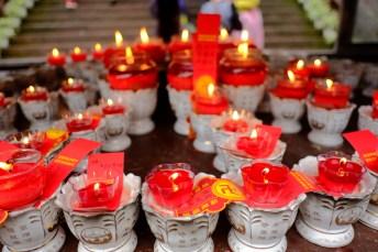 Swastika Candles