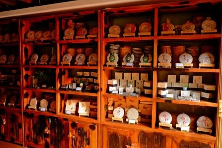 Pressed Tea Discs