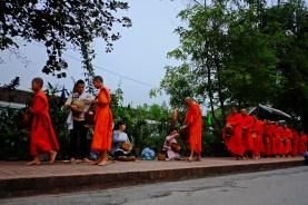 Alms Procession Line