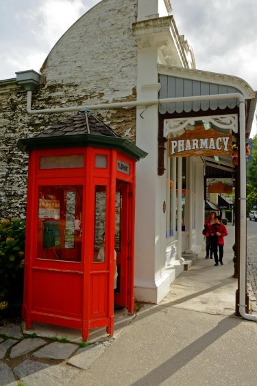 Phonebox in Arrowtown