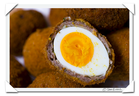 An original Scotch Egg Photo by Becks & Posh