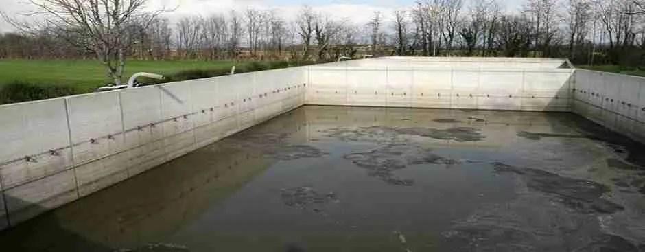 Spazi Confinati in Agricoltura - una vasca di raccolta liquami zootecnici