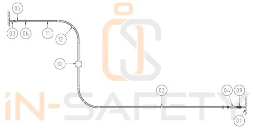 honorope - linee vita doppio cavo