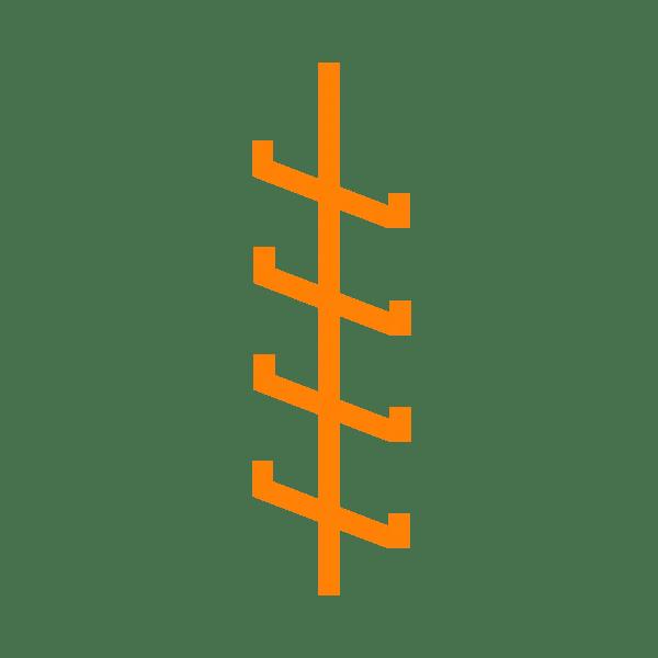 scala anticaduta verticale