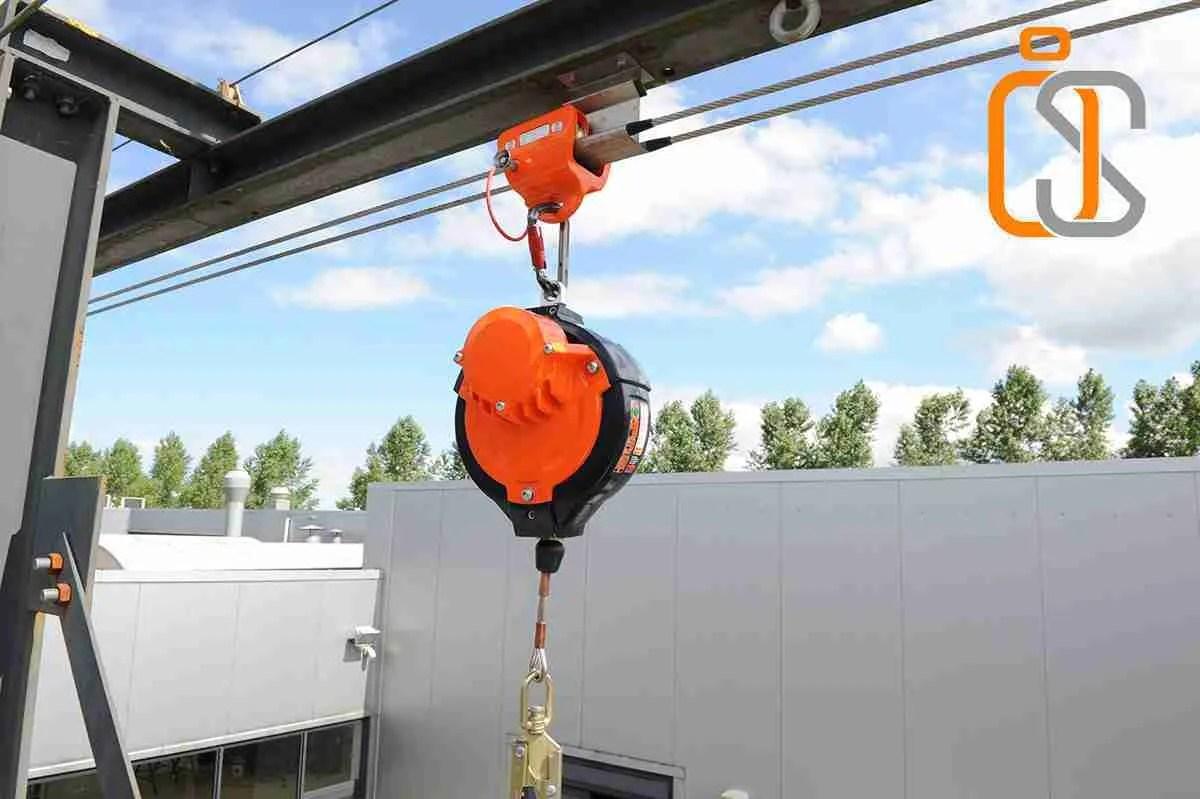 sicurezza baie di carico a doppio cavo flessibile