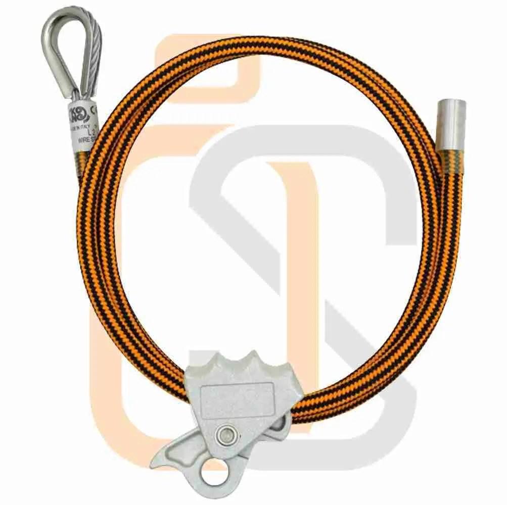 cordini - posizionamento cavo acciaio