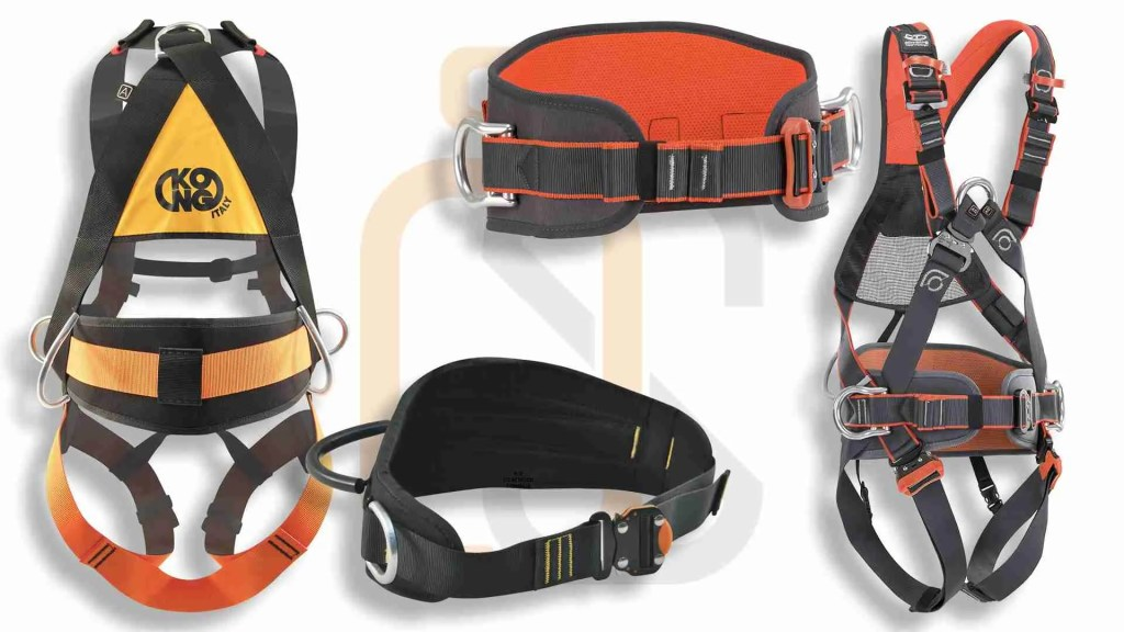imbracatura con cintura di posizionamento integrata