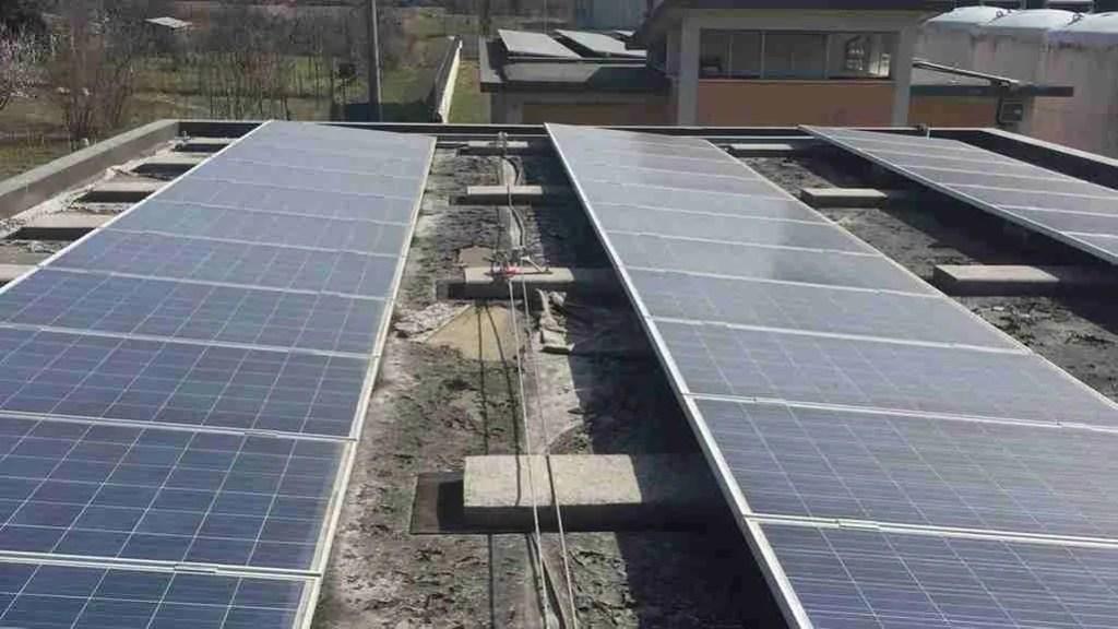 impianti fotovoltaici e sistemi anticaduta - lv su zavorre