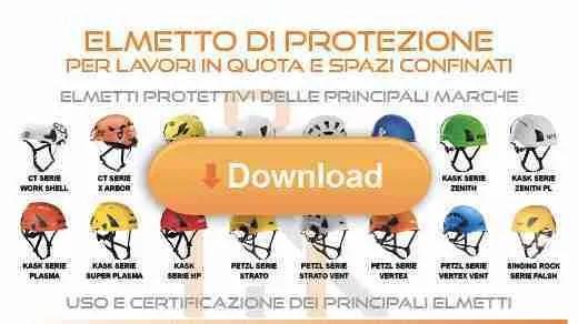 elmetto protettivo - infografica download