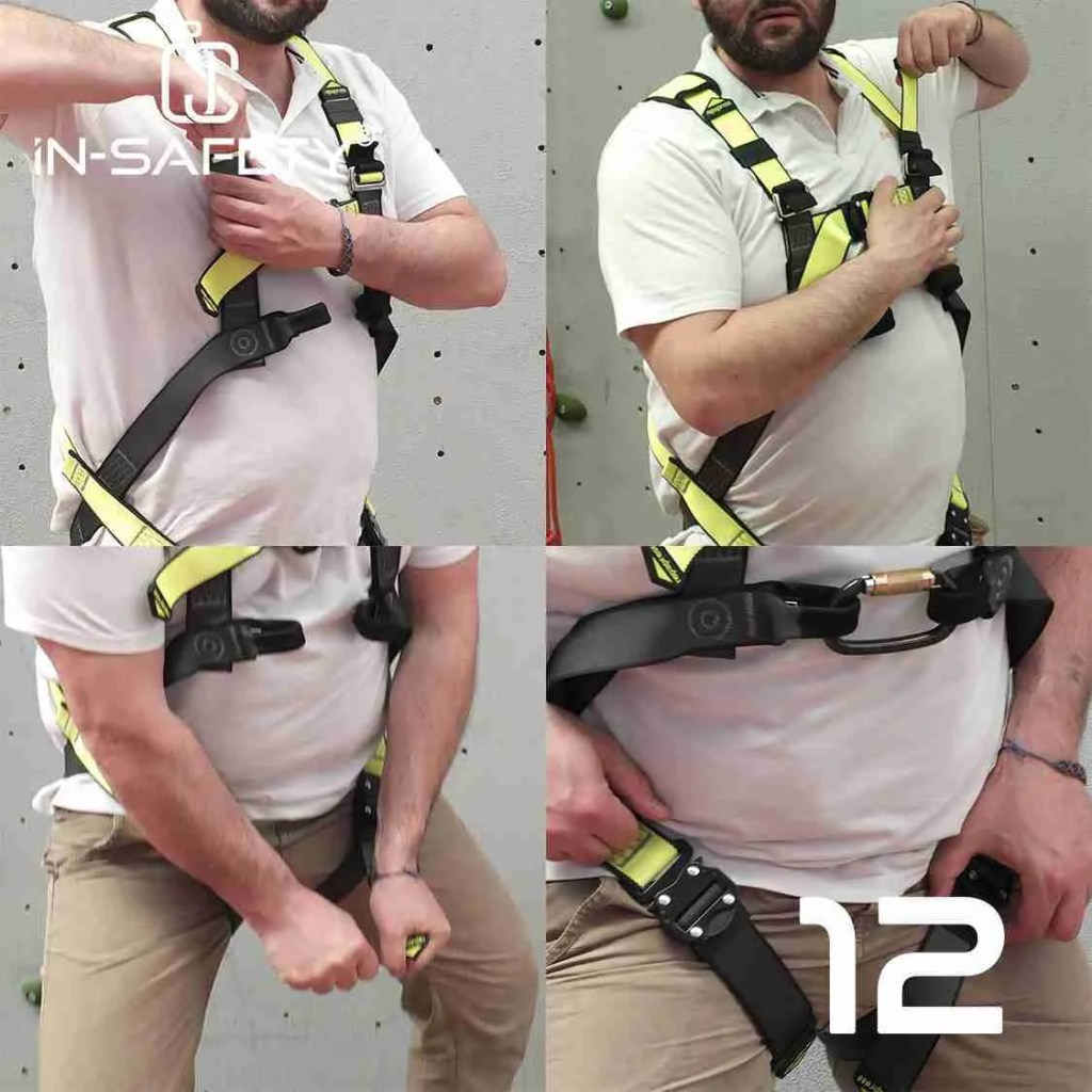 come indossare un'imbracatura - passo 12