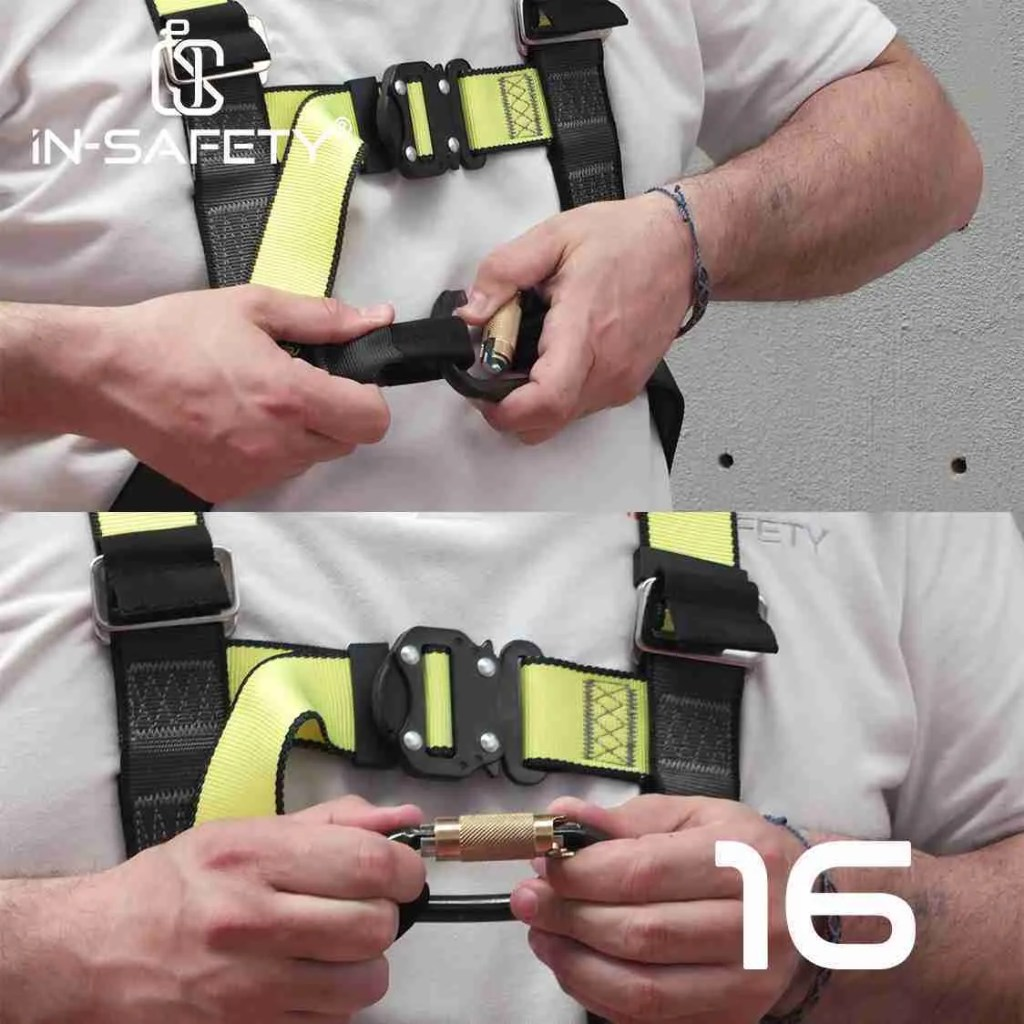 come indossare un'imbracatura - paso 16