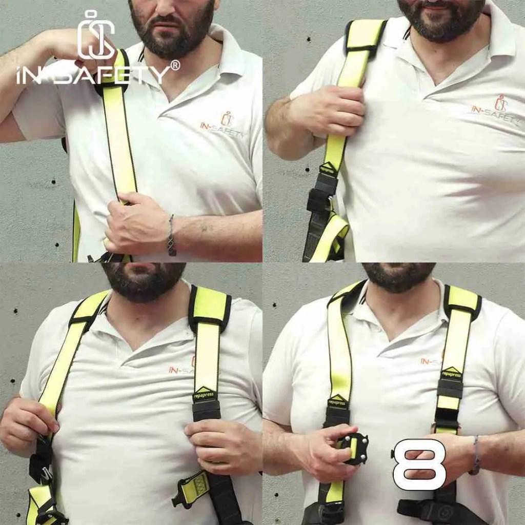 come indossare un'imbracatura - passo 8