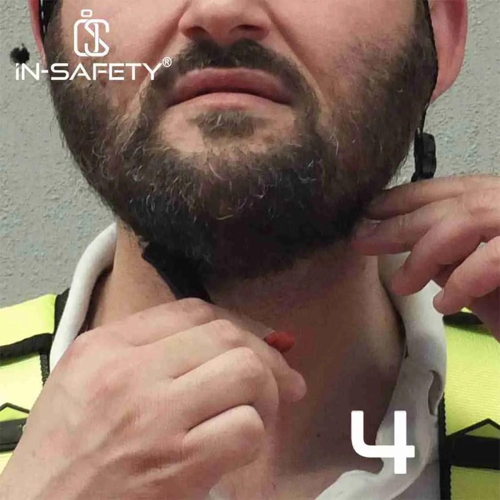 come indossare un'imbracatura - indossare casco 4