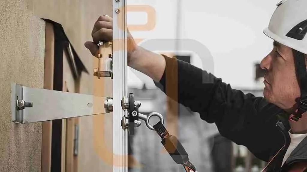 scla di sicurezza FALLPRTEC Securail Vertical Ladder