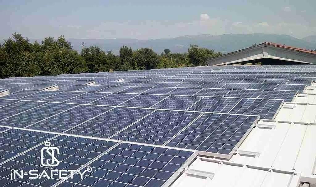 fotovoltaico - riconversione di copertura a coppelle per l'installazione di un impianto Fotovoltaico