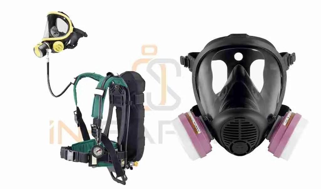biodigestore - maschera e autorespiratore