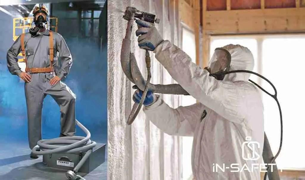 biodigestore - spruzzatore e maschera
