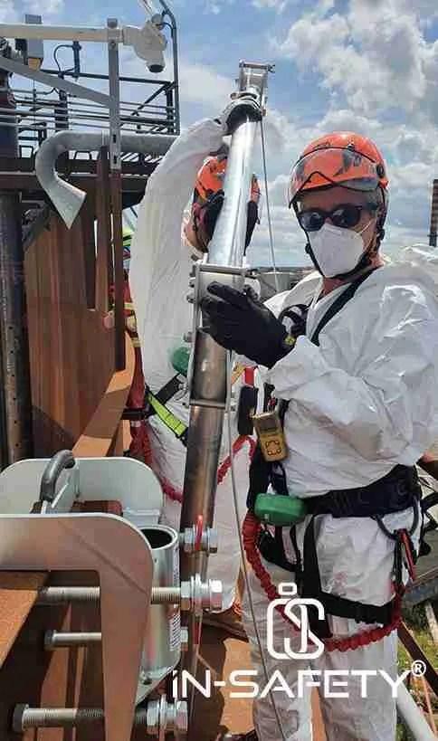 Cristiano Bianchi su serbatoio atmosferico a tetto galleggiante
