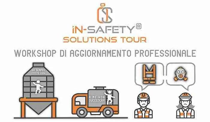 IN-SAFETY® Solutions Tour - copertina pagina lista di attesa