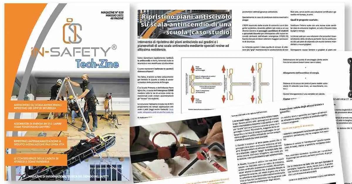 copertina e alcune pagine interne di Tech-Zine Magazine di Maggio 2021