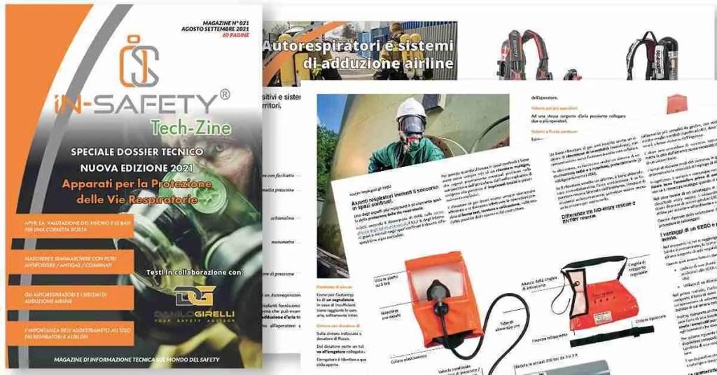 Tech-Zine Magazine numero 21 - il mensile di IN-SAFETY® - Dossier speciale APVR nuova edizione 2021