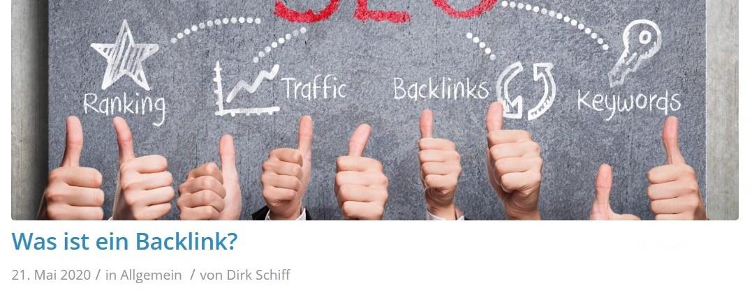 Was ist ein Backlink