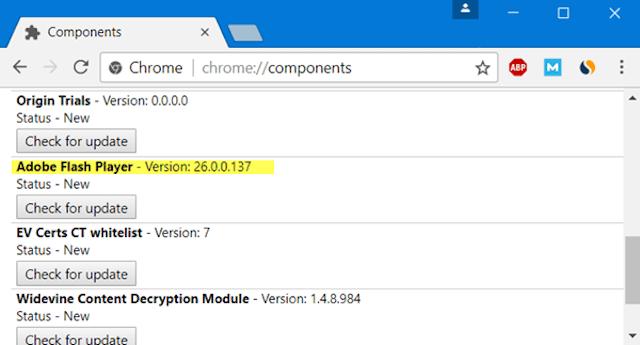 Chrome Components