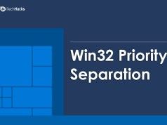 Win32 Priority Separation