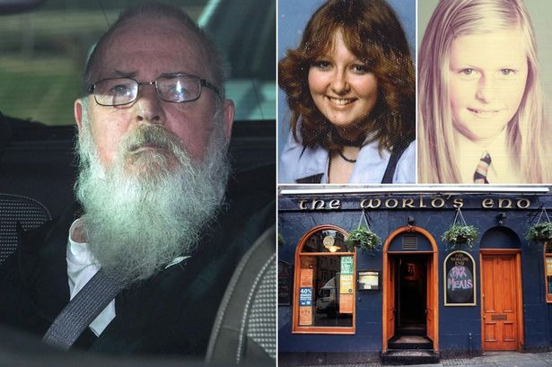 Convicted: After 37 years Angus Sinclair has been found guilty of killing two teenage girls (Source: Mirror)