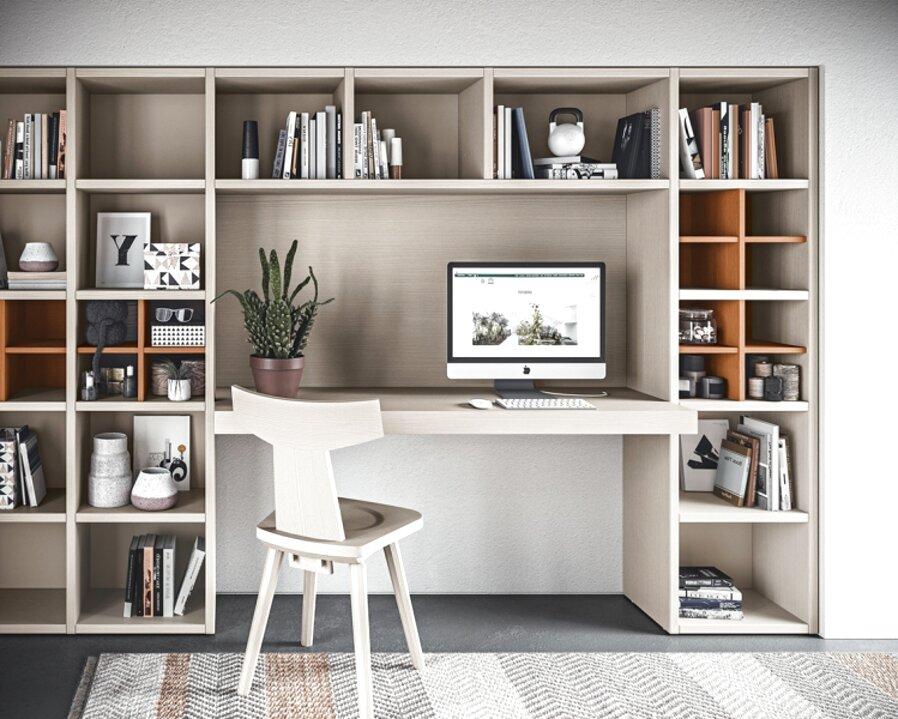 Qualche idea per libreria con scrivania integrata? Scrivania Libreria Camera Usato In Italia Vedi Tutte I 52 Prezzi