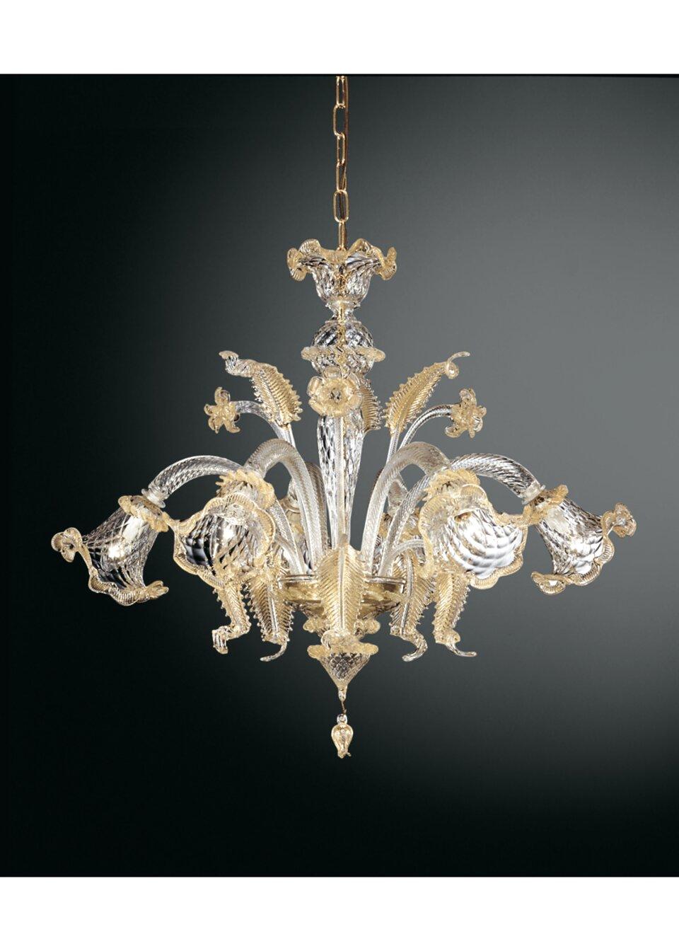 lampadario in vetro artistico di murano col: Lampadario Murano 6 Luci Usato In Italia Vedi Tutte I 92 Prezzi