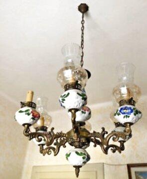 O avere maggiori info su lampadario ceramica putto ? Lampadario Ceramica Ottone Usato In Italia Vedi Tutte I 57 Prezzi