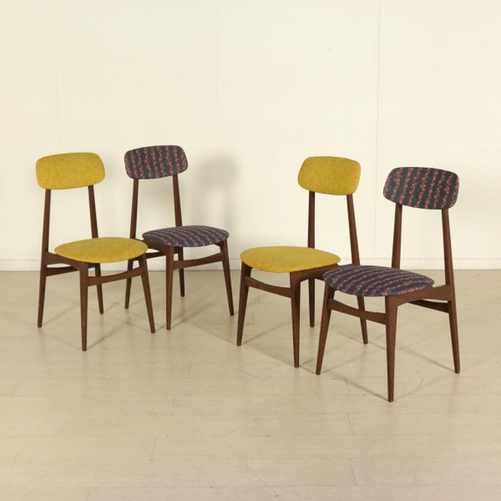 Sedia vintage in legno degli anni '60 circa. Sedie Modernariato Anni 60 Usato In Italia Vedi Tutte I 71 Prezzi