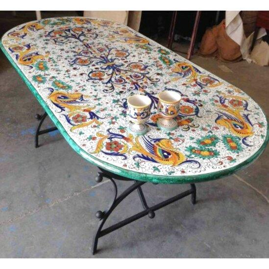 Scopri l'eleganza della ceramica classica in pietra lavica. Deruta Tavolo Usato In Italia Vedi Tutte I 65 Prezzi